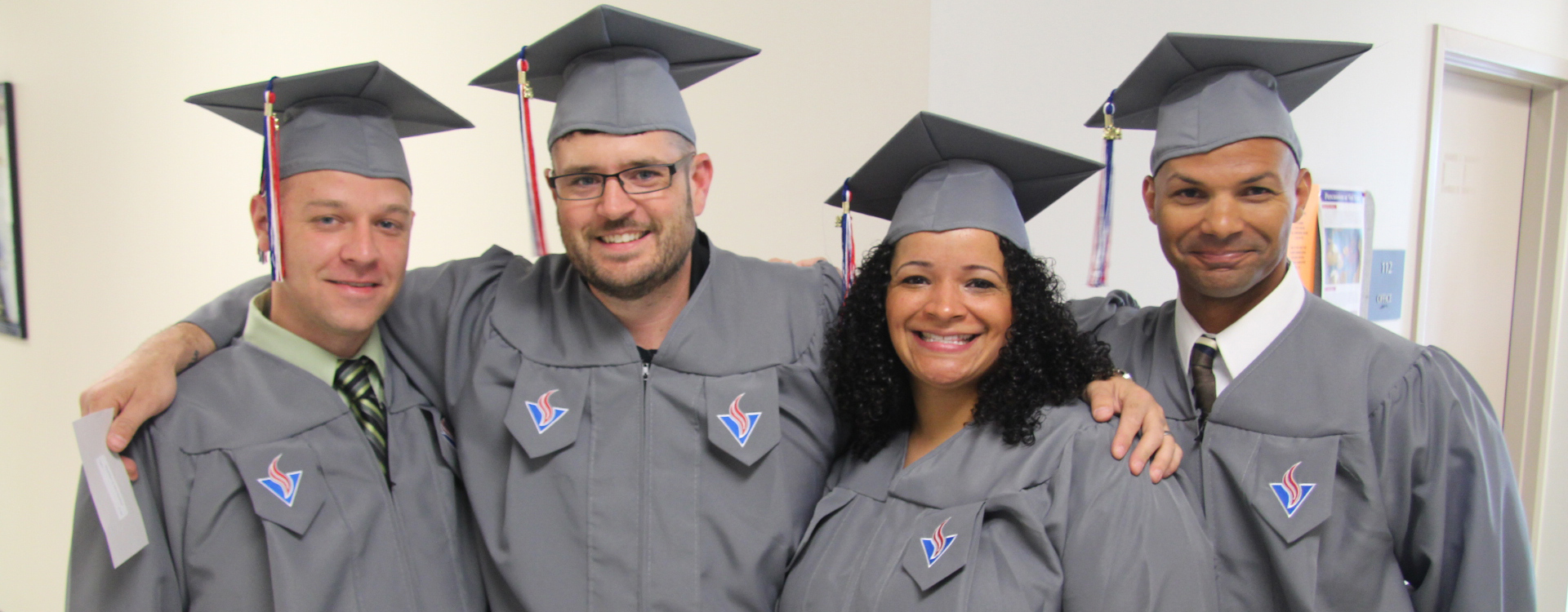Graduates at Vol State commencement.