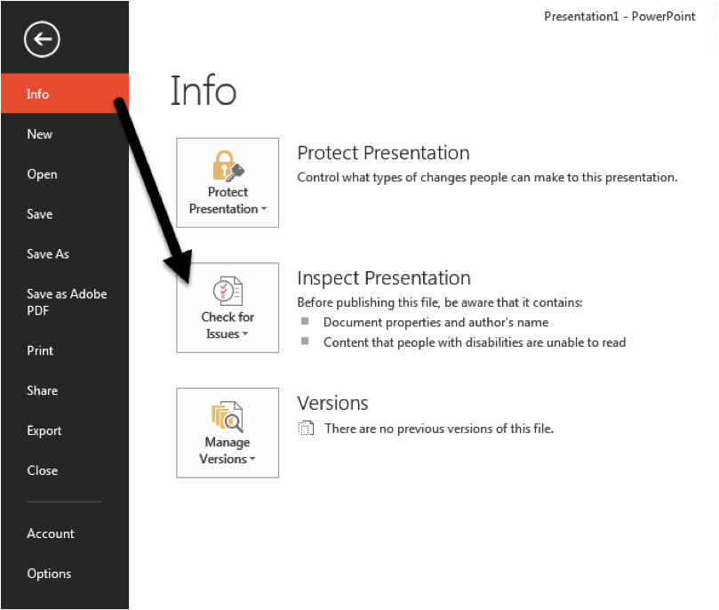 You can access the
