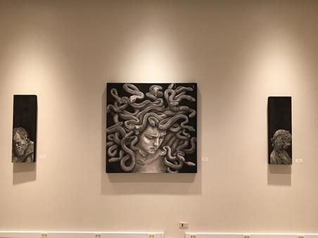 Chip Boles: drawaing of Medusa