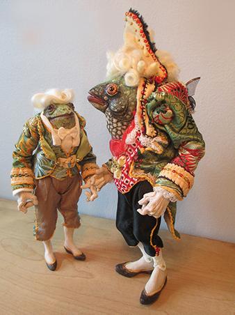 "Connie Smith, Doll Maker - ""Footmen"""