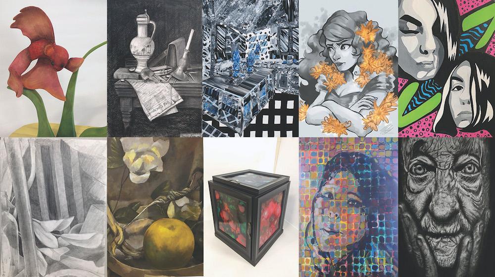Intercollegiate Student Art Show: Collaboration image