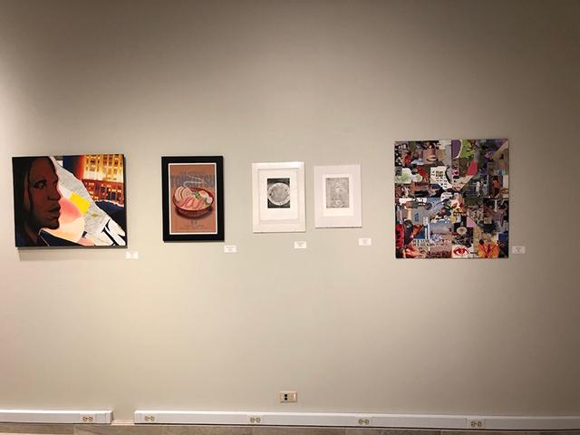 Intercollegiate Student Art Show: five exhibits