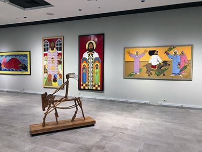 Ted Jones art: gallery view center