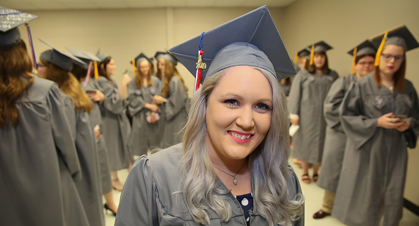 Holly King received tuition-free education with TN Reconnect this year.