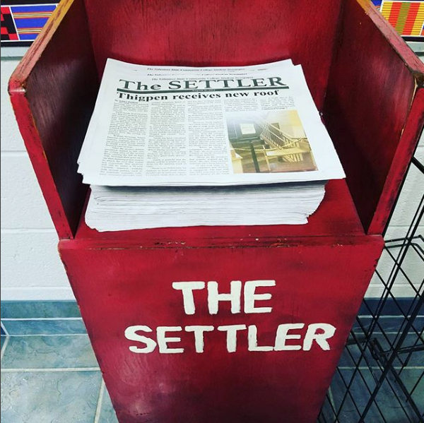 stack of Settler newspapers
