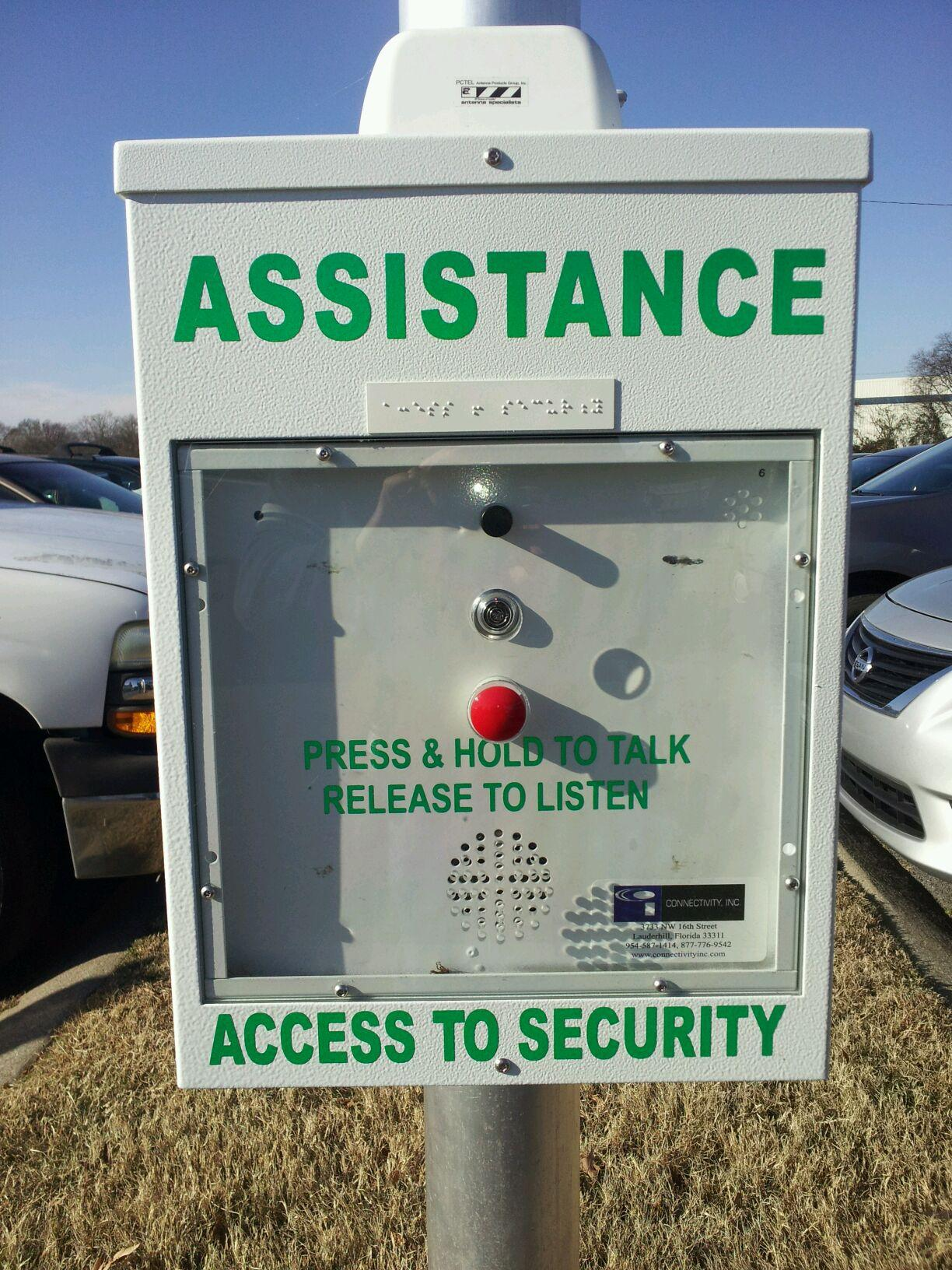 Assistance Call Box
