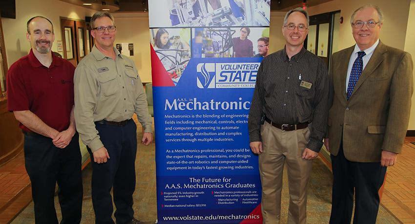 Vol State and Electrolux officials meet in Gallatin