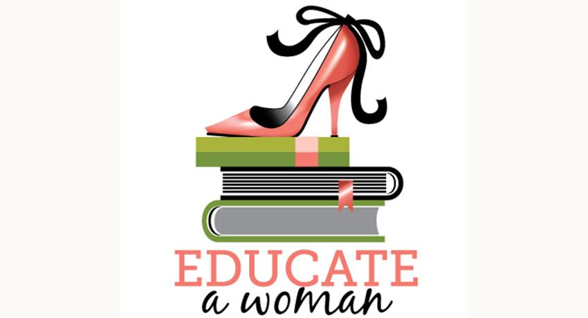 Educate a woman logo.