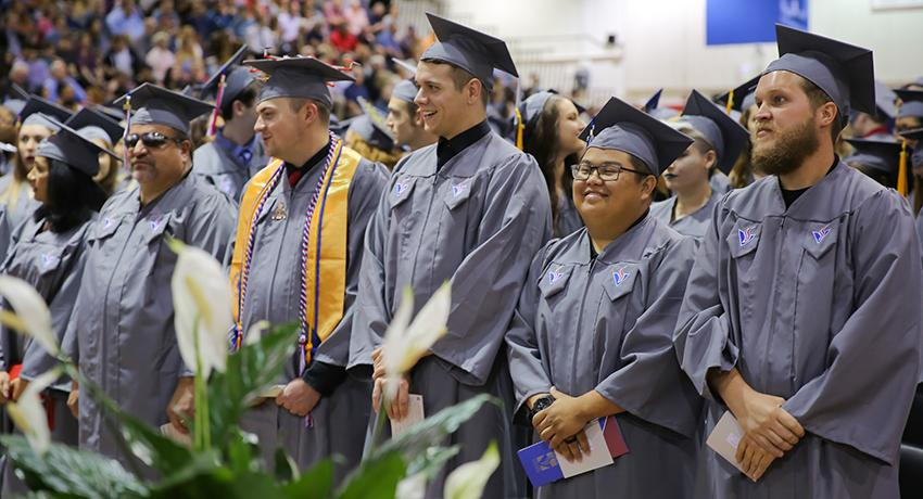 More than 800 students are eligible to graduate from Vol State this spring.