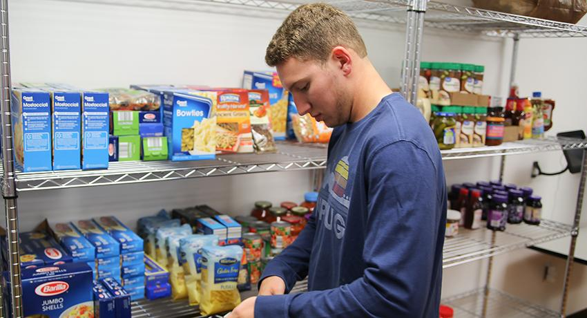 The Vol State Feed student food bank