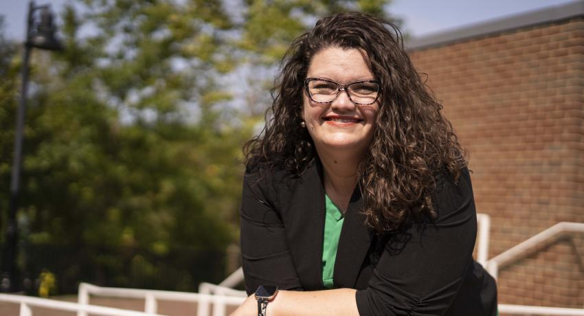 Erin Mann is the new dean of Humanities at Volunteer State Community College