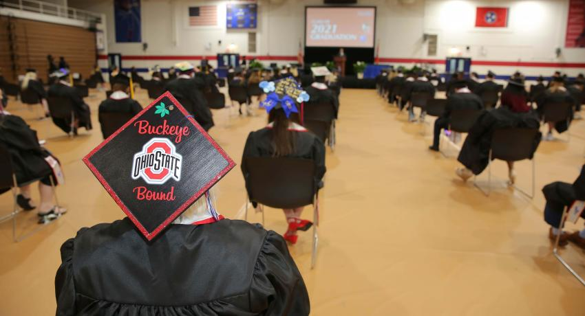 Spring 2021 graduation at Vol State